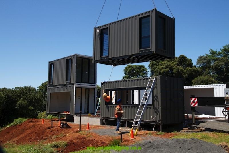 Une Maison En Metal La Maison Container Bien Construire