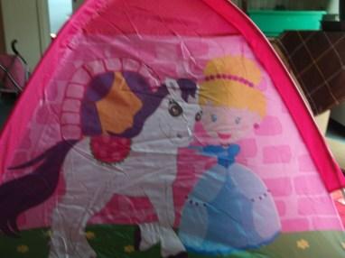 Zelt aussen