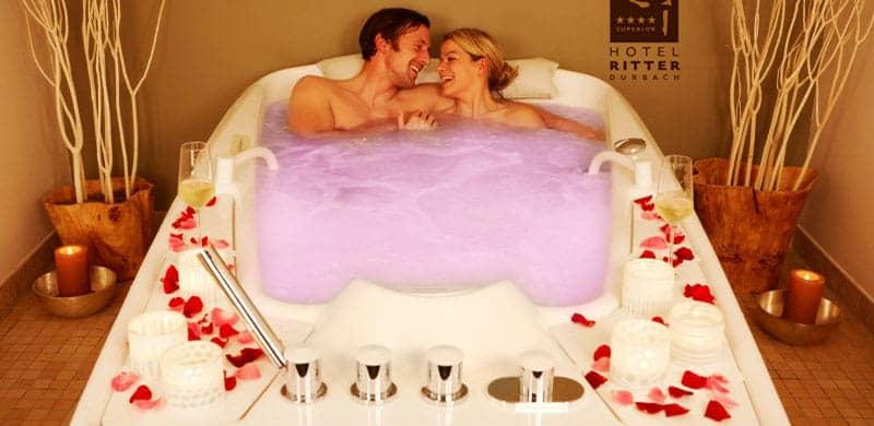 baignoire pour deux hydrotherapie