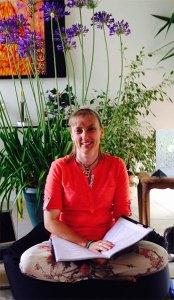 Chrystelle Bourdot anime un atelier
