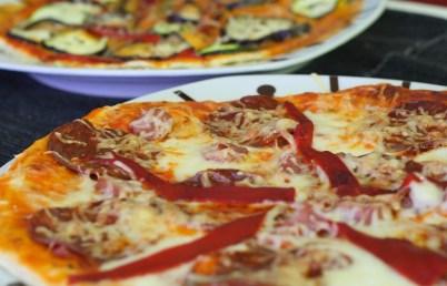 Como preparar una pizza en microondas