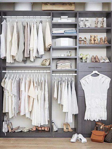 comment faire le tri et reorganiser sa garde robe