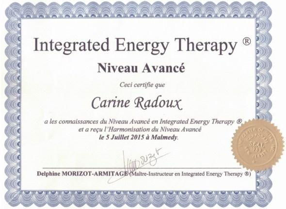 IET - Certification Avancé