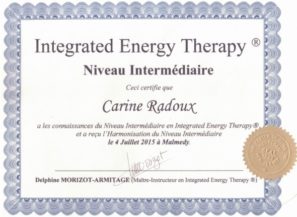 IET - Certification Intermédiaire