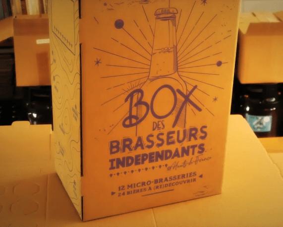 Box des brasseurs indépendants des Hauts de France 2020.