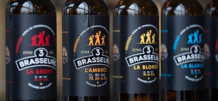 Bières Les 3 Brasseurs
