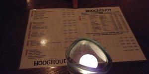 Bierkaart Grand Café Hooghoudt Groningen
