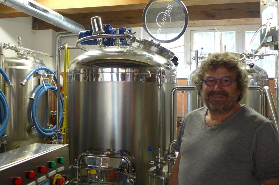 Een trotse brouwer bij Stadsbrouwerij Middelburg