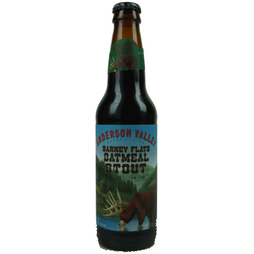 Anderson Valley – Barney Flats Oatmeal Stout 33cl