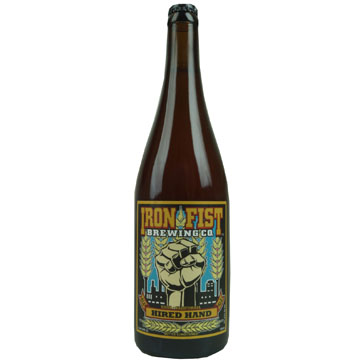 Iron Fist Brewing – Iron Fist Hired Hand Farmhouse Ale 75cl
