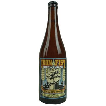 Iron Fist Brewing – Iron Fist Renegade Blonde Kolsch 75cl