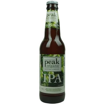 Peak Organic – India Pale Ale 35,5cl
