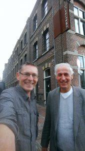 Frank van Leeuwen en Bas Koster voor Scheltema