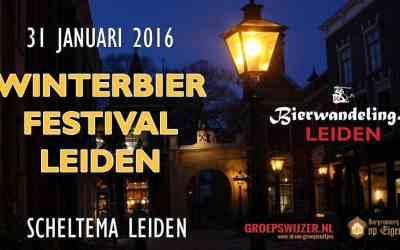 1e Winterbierfestival Leiden op 31 januari 2016 in Scheltema