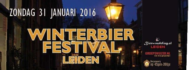 Eerste Winterbierfestival Leiden in Scheltema