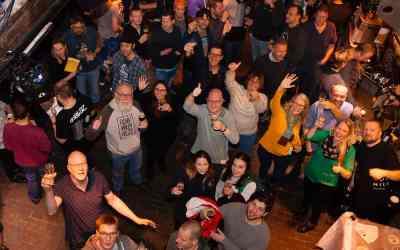 Winterbierfestival Leiden 2019 smakelijk gezellig!