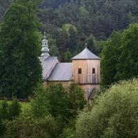 Bieszczady, kościoły i msze święte wykaz.