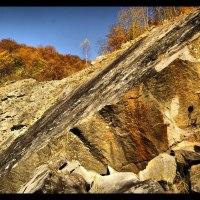 Ściana Skalna w Krywem