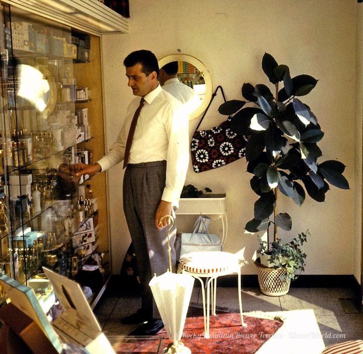 Werner Biewer at the Salon