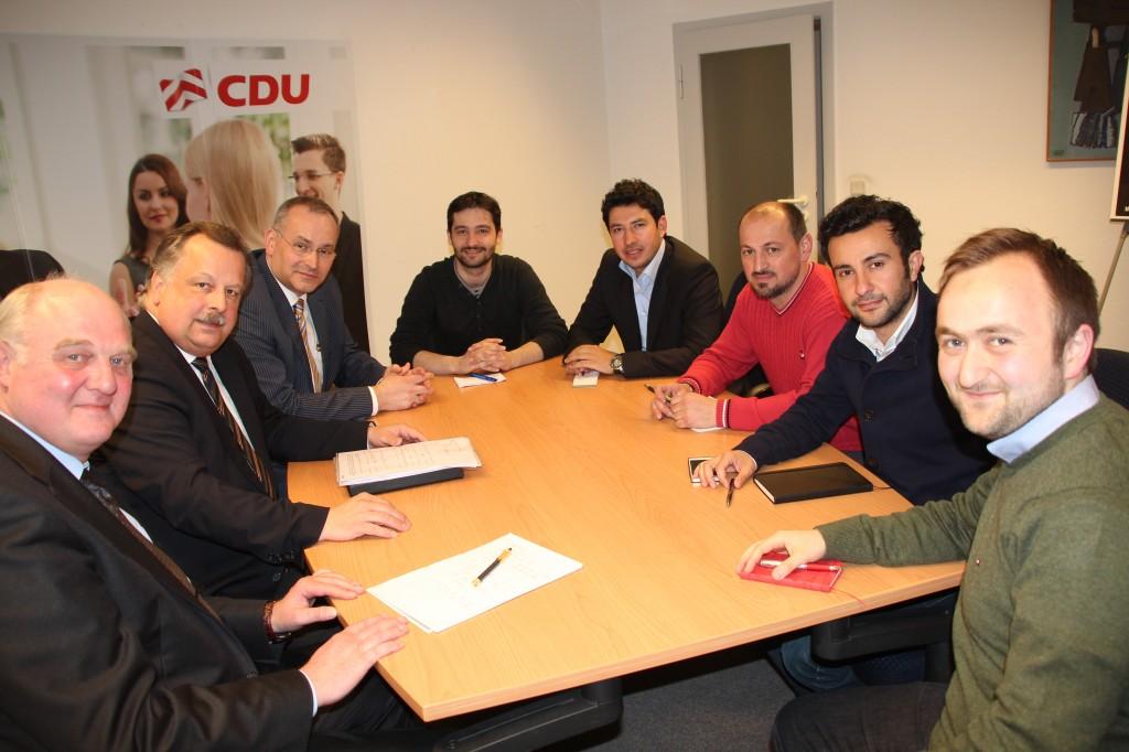 Das BIG beim OB-Kandidaten Andreas Rüther (CDU)