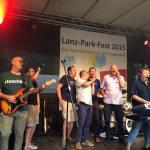 LPF15-Orgateam auf der Bühne mit I want it all XXX20150712