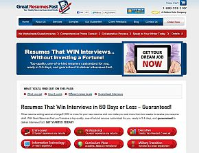 great resumes fast review
