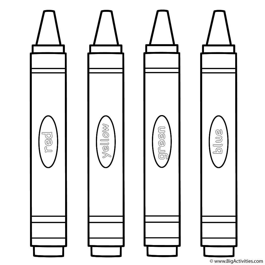 Large Crayons