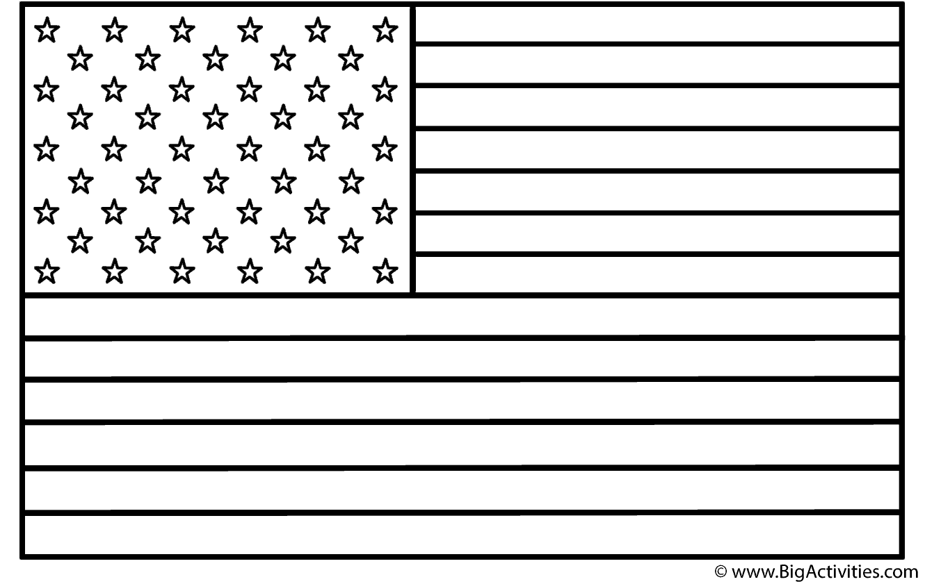 american flag coloring page presidents 39 day