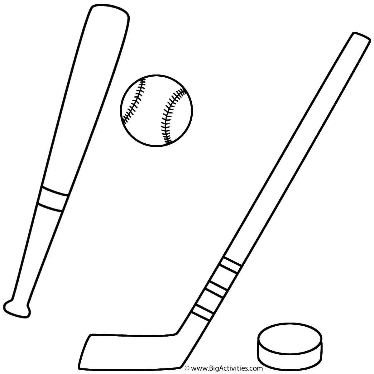 Baseball And Hockey