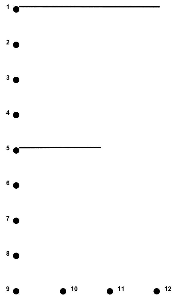 Uppercase E Connect The Dots Alphabet