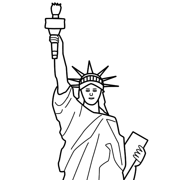 Statue Of Liberty Story Starters For Kids Presidents Day