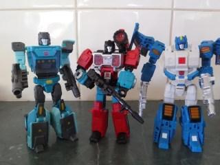Toys Review - Titans Return Kup, Perceptor & Topspin