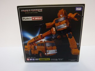 Toy Review - Masterpiece Grapple