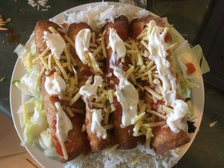 Meat Recipe #6 - Chimichangas: the easy, healthy and family friendly way