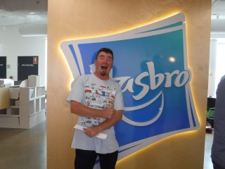 Big Angry Trev visits Hasbro Australia!
