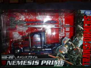 Toy Review - MB-20 Nemesis Prime