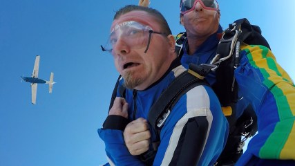 Video 2 of Big Angry Trev Skydiving