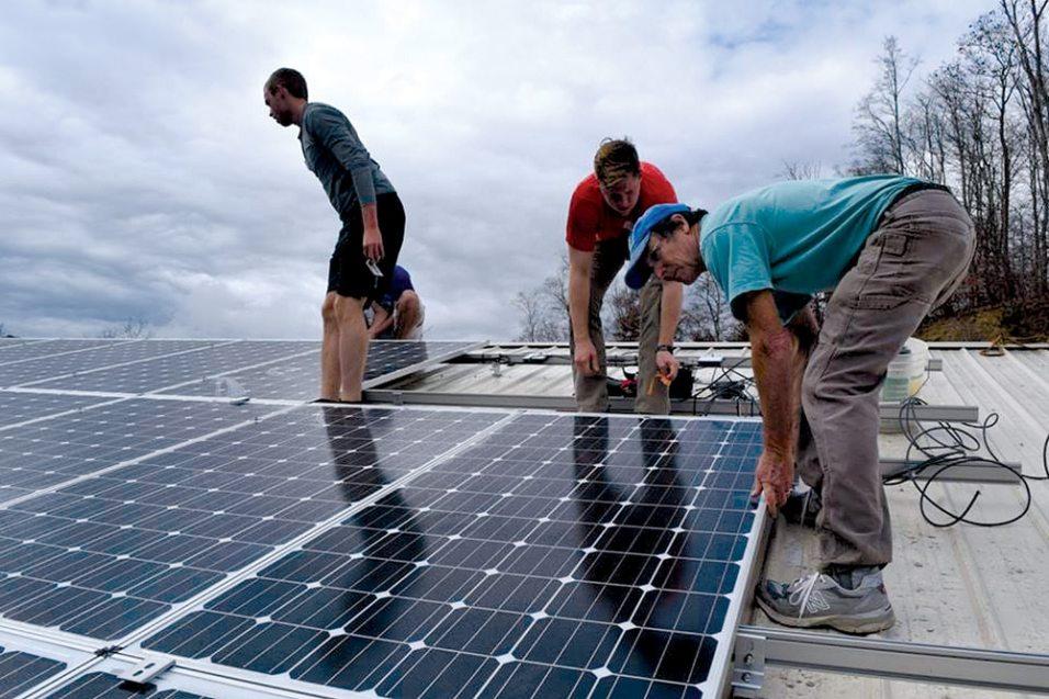 Laborer for Solar Panel Installation Company