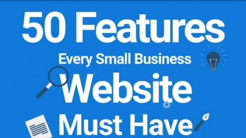 website design features