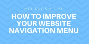 how improve site navigation menu