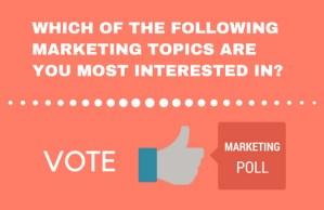 marketing poll