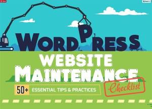 best wordpress tips infographic