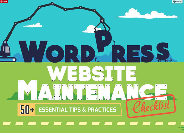 best wordpress tips infographic