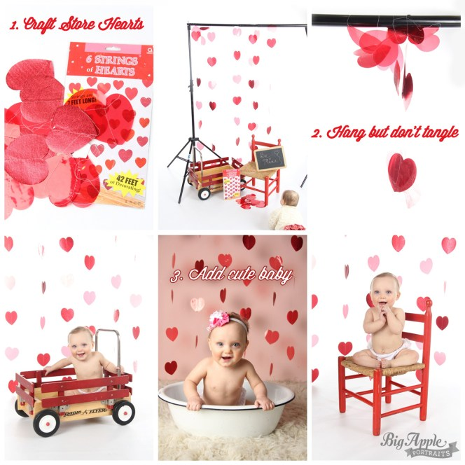 How to create a Valentine's Day set for photographers