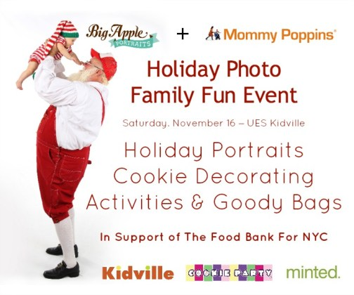 Mommy Poppins Holiday Event 2013
