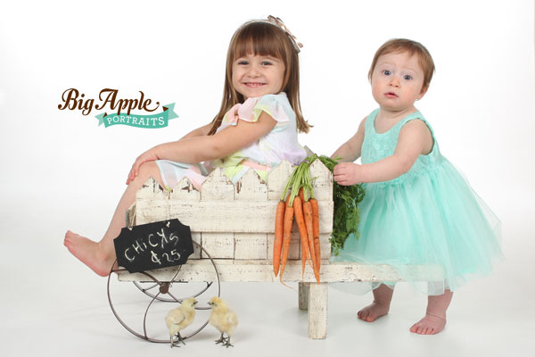 NYC Photographer Baby Chicks & Bunnies Sessions