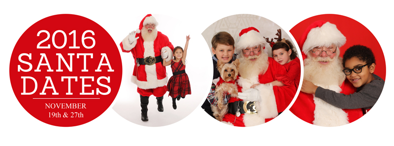 Santa Session Dates 2016