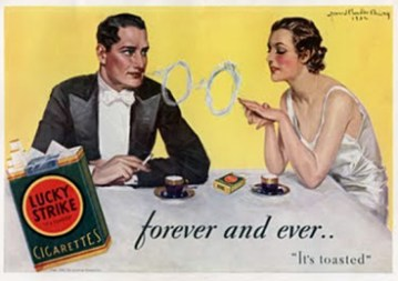 Retro Smoking Advertisements
