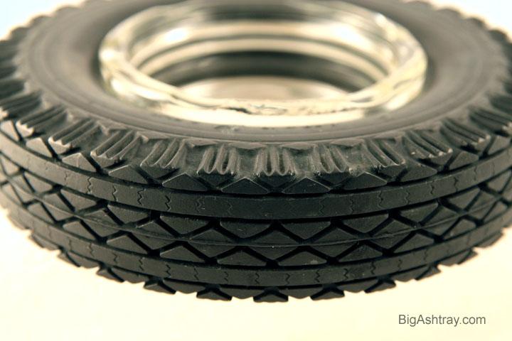 Goodyear Tire Ashtray 1950s Super Cushion