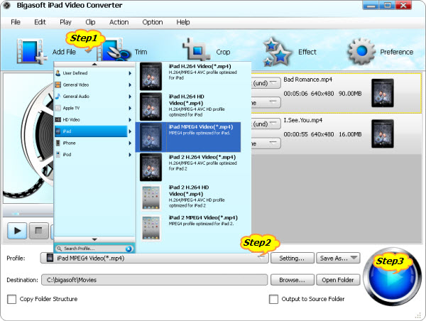 Convert HD MKV to Play 720p or 1080p MKV on iPad 3/iPad 2/iPad